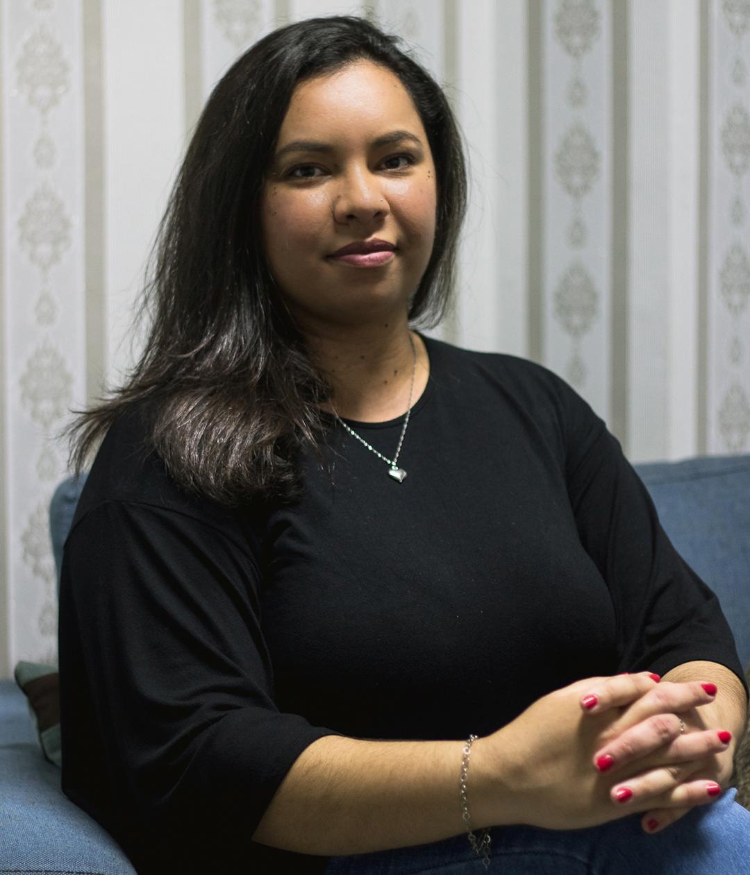 Cintia Kelly Sena Da Silva, Psicóloga, CRP: 06/158510